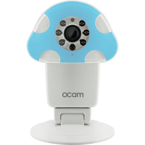 Видеокамера OCAM M1 WiFi Baby Camera белая/синяяУмные видеокамеры, няни<br>Видеокамера OCAM M1 WiFi Baby Camera белая/синяя<br><br>Цвет товара: Белый