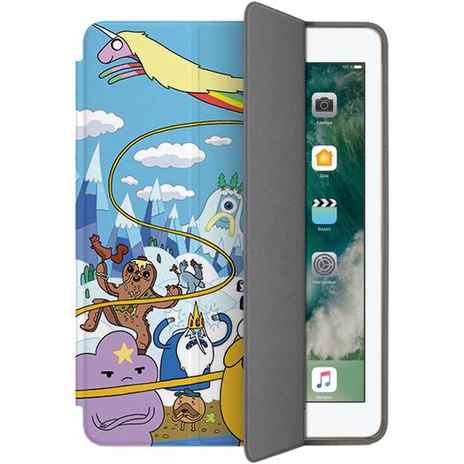 Чехол Muse Smart Case для iPad 9.7 (2017) Время ПриключенийЧехлы для iPad 9.7<br>Чехлы Muse — это индивидуальность, насыщенность красок, ультрасовременные принты и надёжность.<br><br>Цвет: Разноцветный<br>Материал: Поликарбонат, полиуретановая кожа