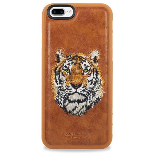 Чехол Santa Barbara Polo & Racquet Club для iPhone 7 Plus Тигр (коричневый)