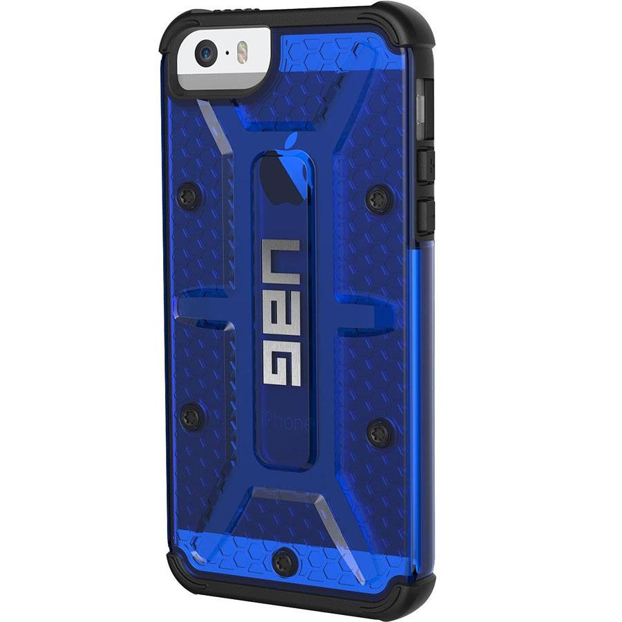 Чехол UAG Plasma Series Case для iPhone 5/5S/SE синий CobaltЧехлы для iPhone 5/5S/SE<br>Каждый чехол UAG Plasma Series Case прошел независимые тесты и был сертифицирован в соответствии высоким стандартам MIL-STD 810G/<br><br>Цвет: Синий<br>Материал: Пластик