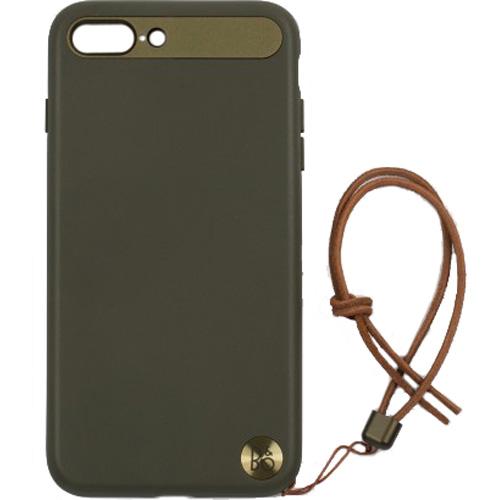 Чехол Bang & Olufsen Play Case with Lanyard для iPhone 7 Plus / iPhone 8 Plus (Moss Green) зелёный