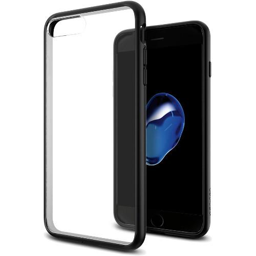 Чехол Spigen Ultra Hybrid для iPhone 7 Plus (Айфон 7 Плюс) черный (SGP-043CS20550)Чехлы для iPhone 7 Plus<br>Spigen Ultra Hybrid — идеальный чехол для минималистов, которые ценят максимальную надёжность и безопасность!<br><br>Цвет товара: Чёрный<br>Материал: Термопластичный полиуретан (TPU)