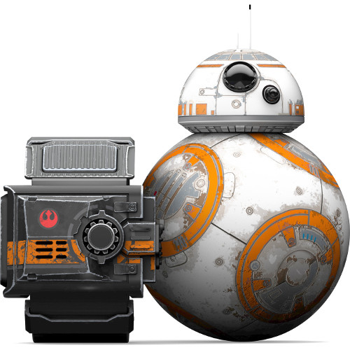 Комплект — робот игрушка Orbotix Sphero BB-8 Star Wars Droid (дроид) и браслет Force BandРоботы<br>Комплект — робот игрушка Orbotix Sphero BB-8 Star Wars Droid (дроид) и браслет Force Band<br><br>Цвет товара: Разноцветный<br>Материал: Металл, пластик