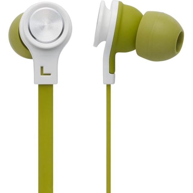 Наушники Cresyn C520E ЗелёныеВнутриканальные наушники<br>Cresyn C520E — это удобная и стильная стереогарнитура с хорошим звуком.<br><br>Цвет товара: Зелёный<br>Материал: Пластик, силикон