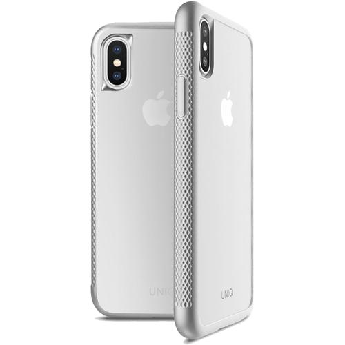 Чехол Uniq Glacier Frost Xtreme для iPhone X серебристыйЧехлы для iPhone X<br>Uniq для iPhone X Glacier Frost Xtreme Silve<br><br>Цвет товара: Серебристый<br>Материал: Поликарбонат, термопластичный полиуретан