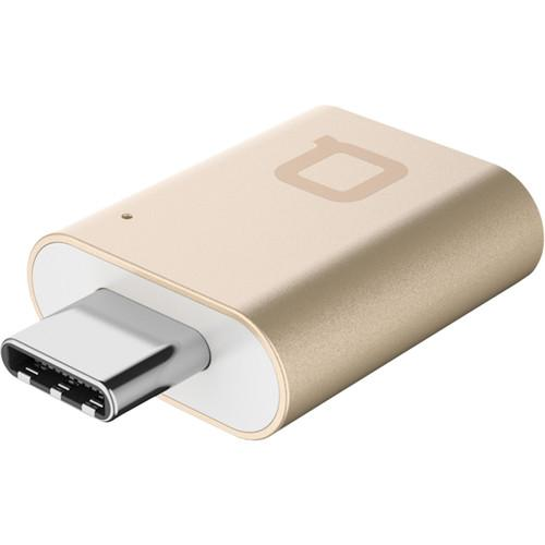 Адаптер Nonda Mini Adapter USB-C/USB 3.0 золотойКабели Type-C и другие<br>Nonda Mini Adapter USB-C/USB 3.0 очень пригодится пользователям нового MacBook 12 Retina.<br><br>Цвет товара: Золотой
