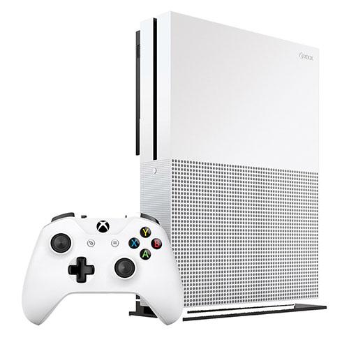 Игровая приставка Xbox One SXbox One и игры<br>Xbox One S - это игровая суперсовременная приставка!<br><br>Цвет товара: Белый<br>Материал: Пластик, металл<br>Модификация: 500 Гб