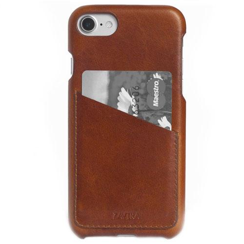 Чехол ZAVTRA для iPhone 7 (Айфон 7) коричневыйЧехлы для iPhone 7<br>Чехол-бампер ZAVTRA для iPhone 7 выполнен из кожи лучшей выделки.<br><br>Цвет товара: Коричневый<br>Материал: Пластик, натуральная кожа