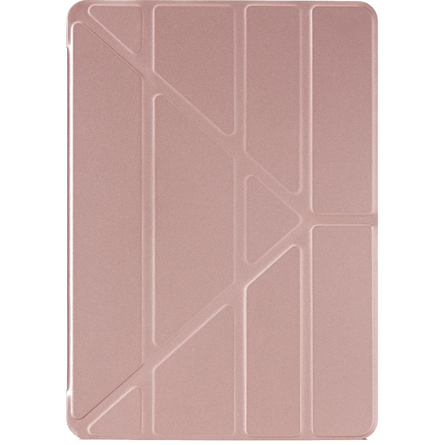 Чехол Pipetto Case Origami для iPad Pro 10.5 розовое золото/прозрачныйЧехлы для iPad Pro 10.5<br>Pipetto Case Origami — элегантный и минималистичный чехол, созданный специально для вашего iPad.<br><br>Цвет: Розовое золото<br>Материал: Поликарбонат, полиуретановая кожа