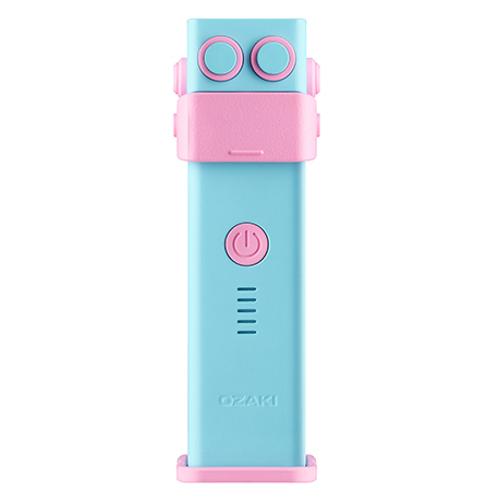 Дополнительный аккумулятор Ozaki O!tool Battery-D26 2600 мАч голубойВнешние аккумуляторы<br>Компактный и мощный аккумулятор Ozaki O!tool Battery-D26 для зарядки Ваших устройств.<br><br>Цвет товара: Голубой<br>Материал: Пластик