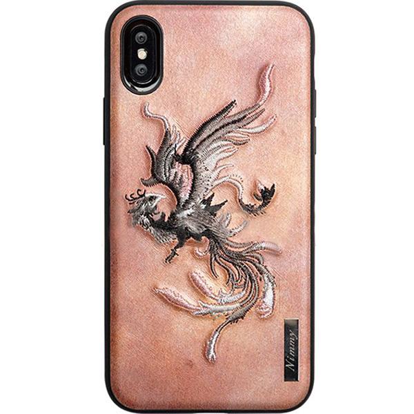 Чехол Nimmy Fantasy Denim для iPhone X (Феникс) коричневыйЧехлы для iPhone X<br>Чехлы Nimmy Fantasy Denim — это тандем стиля и качества.<br><br>Цвет товара: Коричневый<br>Материал: Пластик, силикон, текстиль