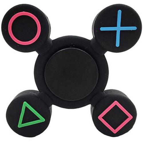 Спиннер FingerTip Gamepad SP4532 чёрныйИгрушки-антистресс<br>Cпиннер — новая и невероятно занимательная игрушка-антистресс, которая поможет вам сосредоточиться и успокоить нервы.<br><br>Цвет товара: Чёрный<br>Материал: Пластик