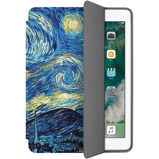 Чехол Muse Smart Case для iPad 9.7 (2017) Ван ГогЧехлы для iPad 9.7 (2017)<br>Чехлы Muse — это индивидуальность, насыщенность красок, ультрасовременные принты и надёжность.<br><br>Цвет товара: Разноцветный<br>Материал: Поликарбонат, полиуретановая кожа