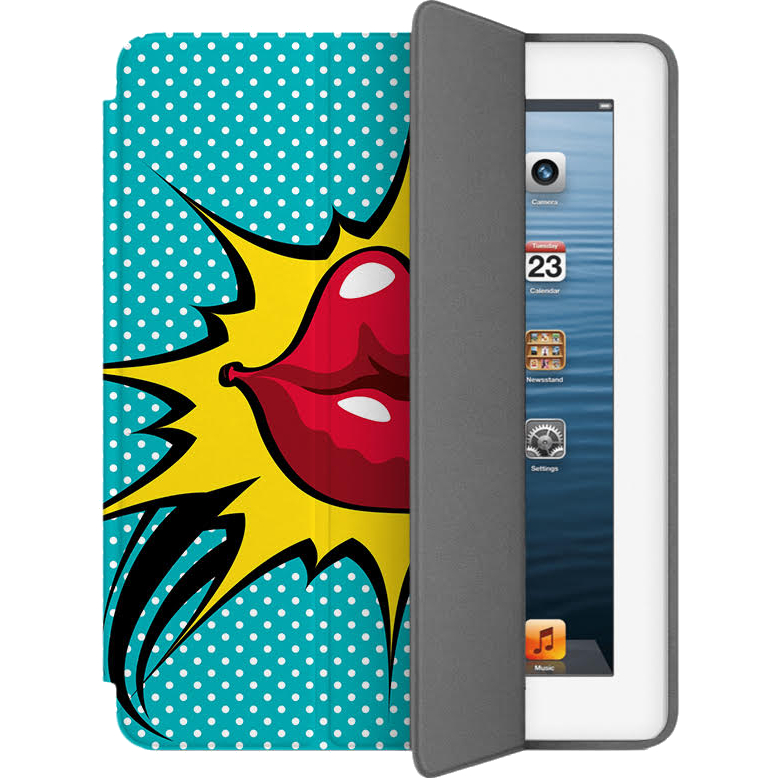 Чехол Muse Smart Case для iPad 2/3/4 ГубыЧехлы для iPad 1/2/3/4<br>Чехлы Muse — это индивидуальность, насыщенность красок, ультрасовременные принты и надёжность.<br><br>Цвет: Бирюзовый<br>Материал: Эко-кожа, поликарбонат