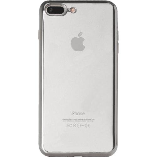 Чехол Gurdini Aluminum Bumper для iPhone 7 Plus серебристыйЧехлы для iPhone 7/7 Plus<br>Gurdini Aluminum Bumper создан для тех, кто не желает скрывать дизайн iPhone 7 Plus.<br><br>Цвет товара: Серебристый<br>Материал: Силикон