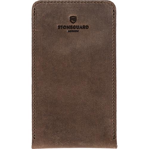 Чехол кожаный Stoneguard для iPhone 6/6s/7/8 коричневый Rust (512)Чехлы для iPhone 6/6s<br>Кожаный чехол от Stoneguard — выбор тех, кто желает всегда идти в ногу со временем!<br><br>Цвет товара: Коричневый<br>Материал: Натуральная кожа, войлок