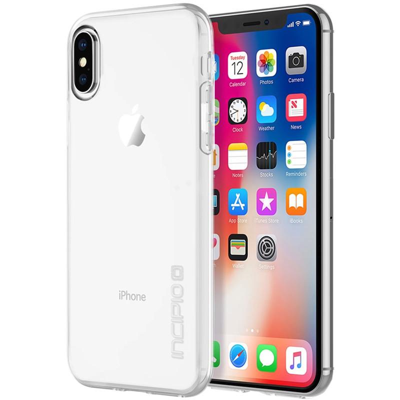 Чехол Incipio NGP Pure для iPhone X кристально-прозрачныйЧехлы для iPhone X<br>Чехол изготовлен из гибкого, абсорбирующего материала Flex2O™ с шелковистой полупрозрачной поверхностью.<br><br>Цвет товара: Прозрачный<br>Материал: Термопластичный полиуретан