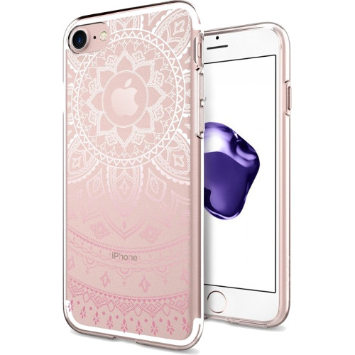 Чехол Spigen Liquid Crystal Shine для iPhone 7 (Айфон 7) розовый (SGP-042CS20958)Чехлы для iPhone 7<br>Spigen Liquid Crystal Shine создан для тех, кого привлекает минимализм и оригинальность форм.<br><br>Цвет товара: Розовый<br>Материал: Термопластичный полиуретан TPU