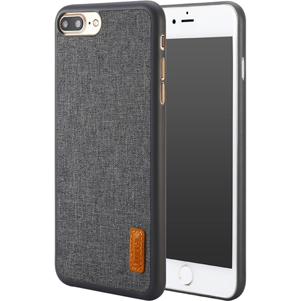 Чехол Baseus Grain Case Sunie Series Ultra Slim для iPhone 7 Plus серыйЧехлы для iPhone 7/7 Plus<br>Тонкий чехол Baseus Grain Case Sunie Series Ultra Slim выглядит элегантно и в тоже время молодёжно, что не может не привлечь внимания.<br><br>Цвет товара: Серый<br>Материал: Термопластичный полиуретан, текстиль