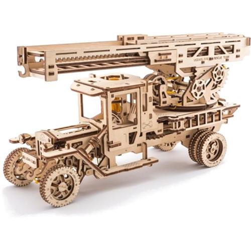 3D-пазл Ugears Пожарная лестница3D пазлы и конструкторы<br>3D-пазлы от компании UGears — это модели удивительной красоты и функциональности.<br><br>Цвет товара: Бежевый<br>Материал: фанера (ФК)