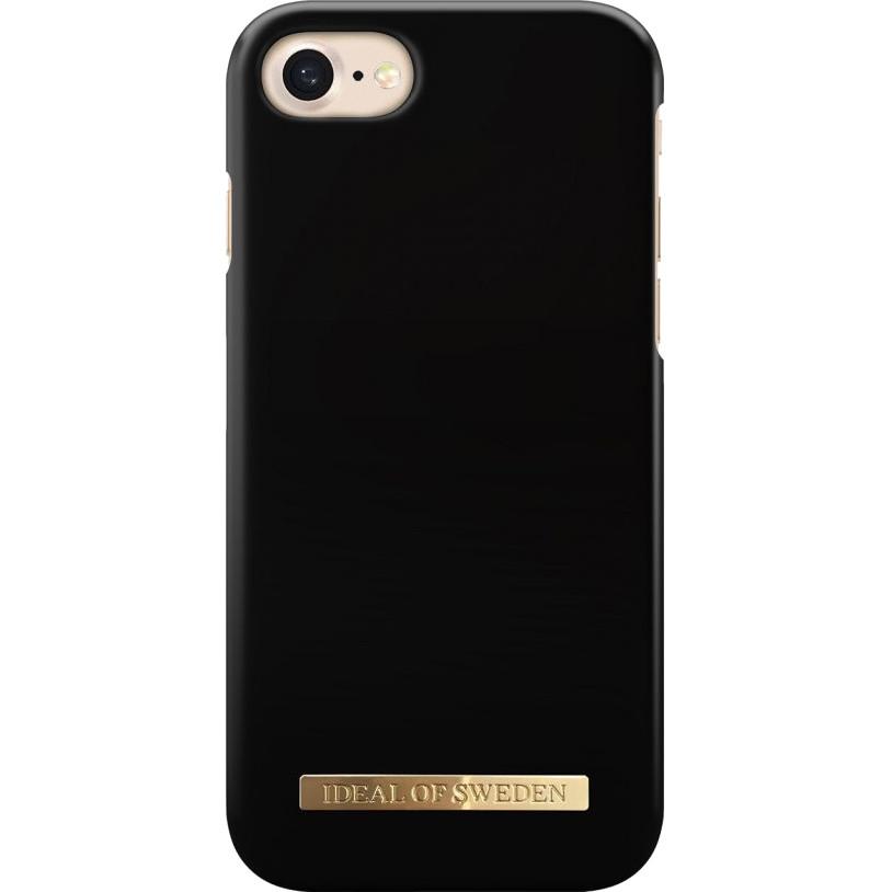 Чехол iDeal of Sweden Fashion Case A/W16 для iPhone 8/7/6 Matte BlackЧехлы для iPhone 6/6s<br>Изысканный матовый iDeal of Sweden Fashion Case станет истинным украшением самого лучшего смартфона!<br><br>Цвет: Чёрный<br>Материал: Пластик, замша