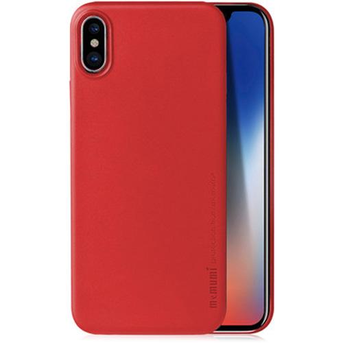 Чехол Memumi Ultra Slim 0.3 для iPhone X красныйЧехлы для iPhone X<br>Memumi Ultra Slim 0.3 — один из самых тонких, надёжных и привлекательных чехлов для вашего любимого смартфона!<br><br>Цвет товара: Красный<br>Материал: Пластик
