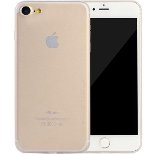 Чехол Memumi Ultra Slim 0.3 для iPhone 7 белый полупрозрачныйЧехлы для iPhone 7<br>Memumi Ultra Slim 0.3 — один из самых тонких, надёжных и привлекательных чехлов для вашего любимого смартфона!<br><br>Цвет товара: Прозрачный<br>Материал: Пластик