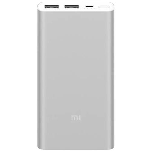 Дополнительный (внешний) аккумулятор Xiaomi Mi Power Bank 2 Dual 10000 мАч серебристыйДополнительные и внешние аккумуляторы<br>Xiaomi Mi Power Bank 2 Dual — незаменимый помощник для людей, живущих в современном ритме!<br><br>Цвет товара: Серебристый<br>Материал: Алюминий