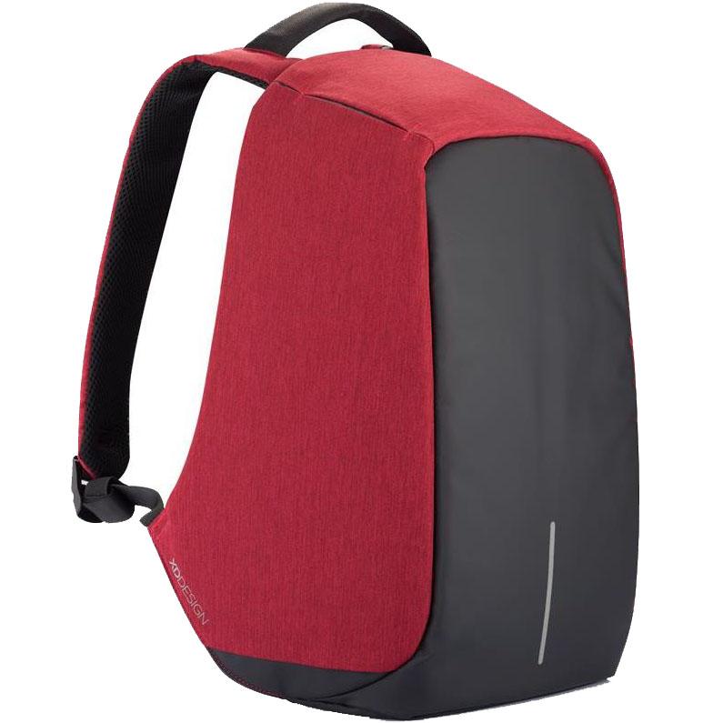 Рюкзак XD Design Bobby для ноутбука 15 красныйРюкзаки<br>Функциональный и стильный Bobby обеспечит надёжную защиту вашим вещам.<br><br>Цвет товара: Красный<br>Материал: Текстиль, полипропилен, полиэстер