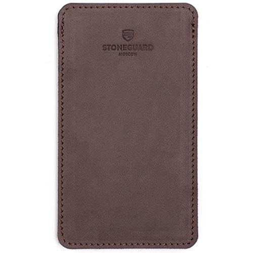 Кожаный чехол Stoneguard для iPhone 6/6s/7 Rock (511)Чехлы для iPhone 7<br>Кожаный чехол Stoneguard для iPhone 6/6s/7 Rock (511)<br><br>Цвет товара: Коричневый<br>Материал: Натуральная кожа, войлок