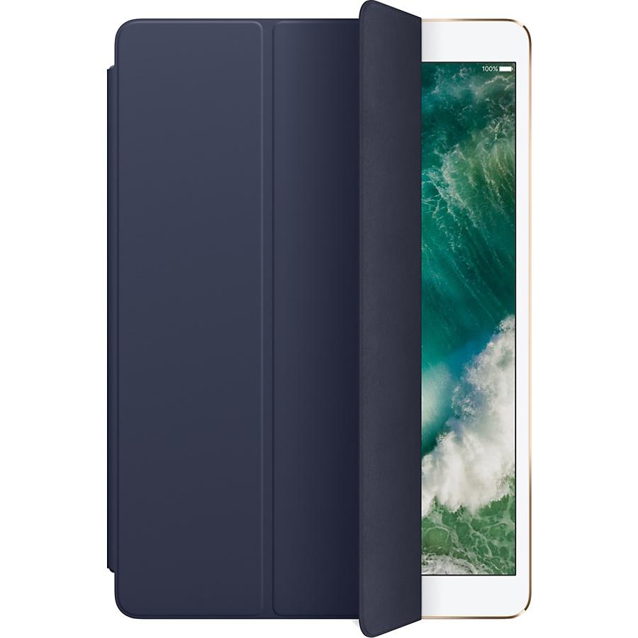Чехол Apple Smart Cover для iPad Pro 10.5 (Midnight Blue) тёмно-синийЧехлы для iPad Pro 10.5<br>Чехол Apple Smart Cover для iPad Pro 10.5 - (Midnight Blue) темно-синий<br><br>Цвет товара: Синий<br>Материал: Полиуретан
