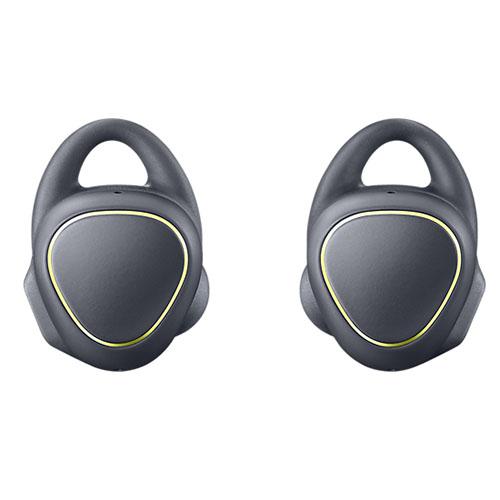 Наушники Samsung Gear IconX чёрныеВнутриканальные наушники<br>ear IconX созданы специально для любителей фитнеса!<br><br>Цвет товара: Чёрный<br>Материал: Пластик, силикон