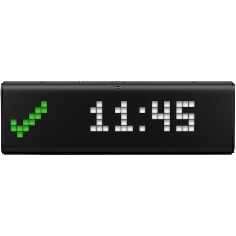 Умные настольные часы LaMetric Time (LSD-S-EU) чёрныеТовары умного дома, офиса<br>LaMetric Time обладают безграничными возможностями индивидуализации!<br><br>Цвет товара: Чёрный<br>Материал: Пластик