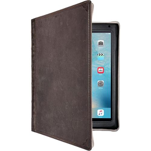Чехол TwelveSouth BookBook для iPad mini / iPad mini Retina 4 КоричневыйЧехлы для iPad mini 1/2/3<br>Чехол-книжка Twelve South BookBook для iPad mini 4 - коричневый<br><br>Цвет товара: Коричневый<br>Материал: Натуральная кожа, текстиль, пластик