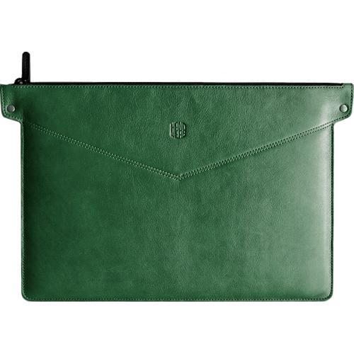 Чехол Handwers Bering для MacBook 13 зелёнаяЧехлы для MacBook Pro 15 Old (до 2012г)<br>Сумка Handwers Bering для ноутбуков 15 Зеленая<br><br>Цвет товара: Зелёный<br>Материал: Натуральная кожа, войлок
