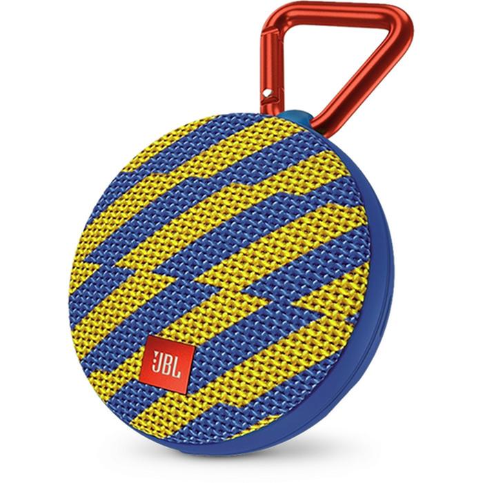 Портативная акустическая система JBL Clip 2 Special Edition ZapКолонки и акустика<br>Ультрамощный портативный динамик JBL CLIP 2 с впечатляющими характеристиками.<br><br>Цвет товара: Разноцветный<br>Материал: Пластик, металл, текстиль