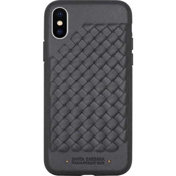 Чехол Santa Barbara Polo &amp; Racquet Club RAVEL для iPhone X чёрныйЧехлы для iPhone X<br>Santa Barbara Polo &amp; Racquet Club RAVEL — восхитительный чехол премиум-класса для iPhone X.<br><br>Цвет: Чёрный<br>Материал: Пластик, эко-кожа
