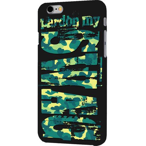 Чехол iPapai «RocknRoll» (Swag green) для iPhone 7Чехлы для iPhone 7<br>Чехол iPapai «RocknRoll» для тех, кто обладает не только хорошим вкусом и оригинальностью, но и ценит безопасность своего гаджета.<br><br>Цвет товара: Разноцветный<br>Материал: Силикон