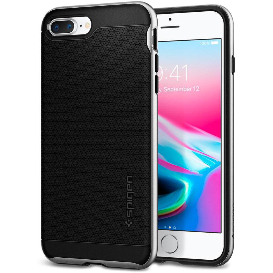 Чехол Spigen Neo Hybrid 2 для iPhone 7 Plus, iPhone 8 Plus серебристый (055CS22374)Чехлы для iPhone 7 Plus<br>Spigen Neo Hybrid 2 двухслойный чехол, который обеспечивает полную защиту вашего смартфона.<br><br>Цвет товара: Серебристый<br>Материал: Поликарбонат, полиуретан