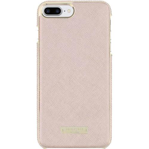 Чехол Kate Spade New York Wrap Case для iPhone 7 Plus / 8 Plus Saffiano розовое золотоЧехлы для iPhone 7 Plus<br>Прочный и изысканный чехол Kate Spade New York — это идеальное дополнение к вашему iPhone!<br><br>Цвет товара: Розовое золото<br>Материал: Кожа Saffiano, пластик