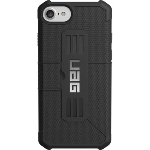 Чехол UAG Metropolis Series Case для iPhone 6/6s/7 чёрныйЧехлы для iPhone 6/6s<br>Чехлы от компании Urban Armor Gear разработаны и спроектированы таким образом, чтобы обеспечить максимальную защиту вашему смартфону, при этом со...<br><br>Цвет товара: Чёрный<br>Материал: Пластик