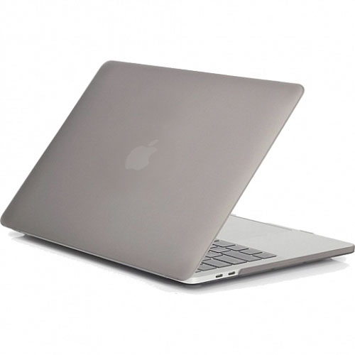 Чехол Crystal Case для MacBook Pro 15 Touch Bar тёмно-серыйMacBook Pro 15<br>Чехол Crystal Case — ультратонкая, лёгкая, полупрозрачная защита для вашего любимого Macbook.<br><br>Цвет: Серый<br>Материал: Поликарбонат