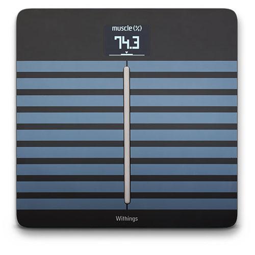 Весы Withings Body Cardio для iOS/AndroidУмные весы, тонометры<br>Весы Withings Body Cardio для iOS/Android [WBS04] чёрные<br><br>Цвет товара: Чёрный<br>Материал: Металл, стекло