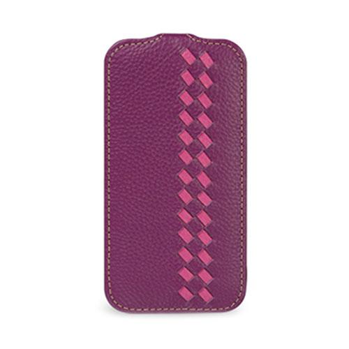 Чехол TETDED Weave для Samsung GALAXY S4 Фиолетовый