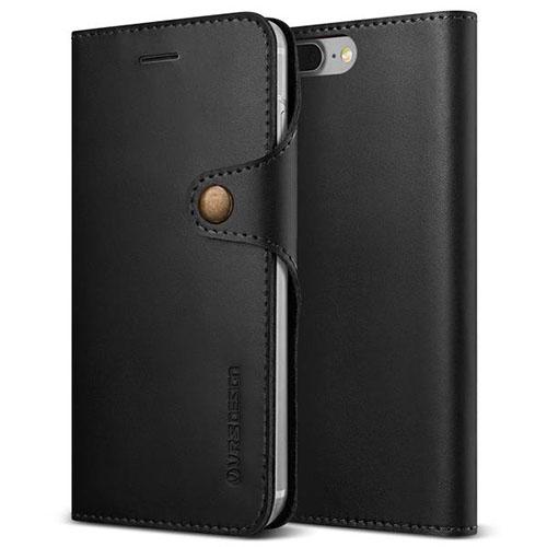 Чехол Verus Native Diary для iPhone 7 Plus (Айфон 7 Плюс) чёрный (VRIP7P-NTDBK)