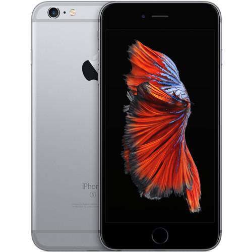 Apple iPhone 6s Plus - 128 Гб серый космосApple iPhone 6/6s/Plus<br>Apple iPhone 6s — это инновации на всех уровнях.<br><br>Цвет товара: Серый космос<br>Материал: Металл<br>Модификация: 128 Гб