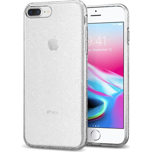 Чехол Spigen Liquid Crystal Glitter для iPhone 8 Plus / 7 Plus кристальный кварц (043CS21758)Чехлы для iPhone 7 Plus<br>Spigen Liquid Crystal Glitter — это первый чехол с блеском, который отлично смотрится на iPhone 8 Plus и iPhone 7 Plus!<br><br>Цвет товара: Прозрачный<br>Материал: Термопластичный полиуретан