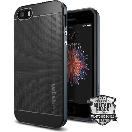 Чехол Spigen Neo Hybrid для iPhone SE (SGP-041CS20253)Чехлы для iPhone 5s/SE<br>Чехол Spigen Neo Hybrid для iPhone SE синий металлик (SGP-041CS20253)<br><br>Материал: Металл, пластик, резина