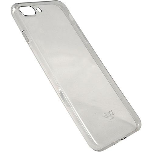 Чехол Uniq Glase для iPhone 7 Plus (Айфон 7 Плюс) серыйЧехлы для iPhone 7 Plus<br>Чехол Uniq Glase для iPhone 7 Plus (Айфон 7 Плюс) серый<br><br>Цвет товара: Серый<br>Материал: Поликарбонат, полиуретан