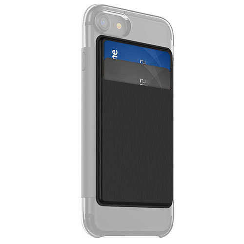Дополнение для чехла Mophie Hold Force Wallet для iPhone 7 (Айфон 7) чёрноеЧехлы для iPhone 7<br>Накладка Mophie Hold Force Folio для чехла Mophie Base Case для iPhone 7<br><br>Цвет товара: Чёрный
